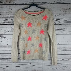 Lc Lauren Conrad star sweater size medium